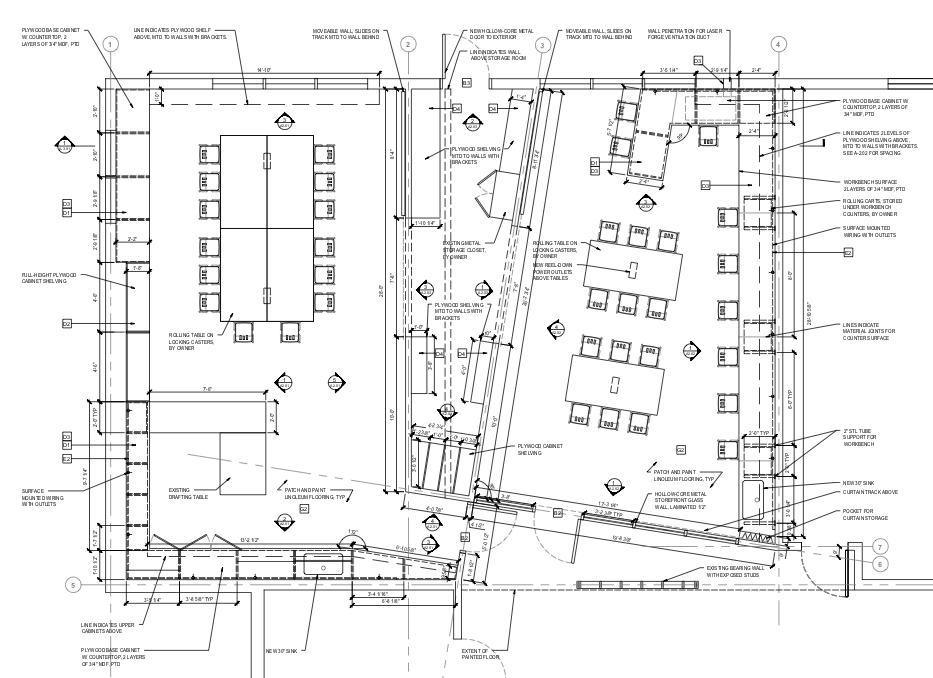 LGA ToolBox Floor Plan