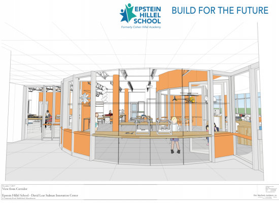 DLS Innovation Center Drawing
