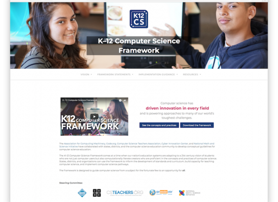K12 CS Web Site