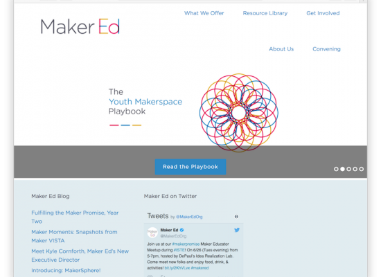 Maker Ed Website