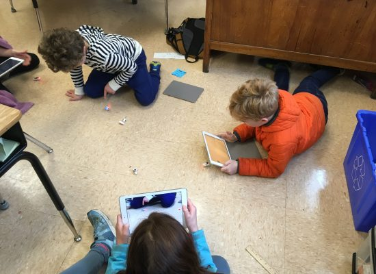 4th Graders test Brushbots