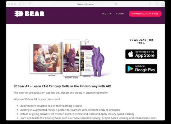 3D Bear Website