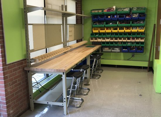 Science Lab MakerSpace area