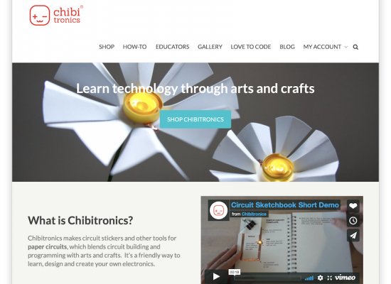 Chibitronics Website