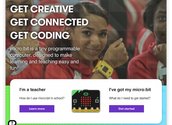 Microbit website
