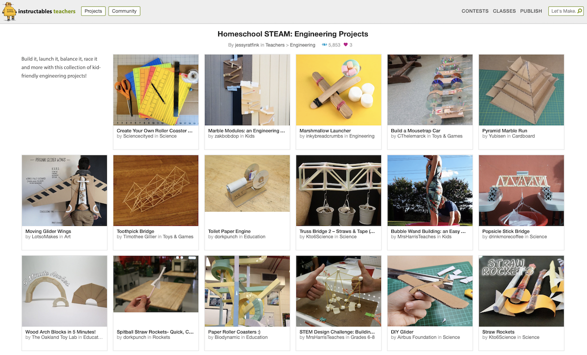 Instructables Web Site