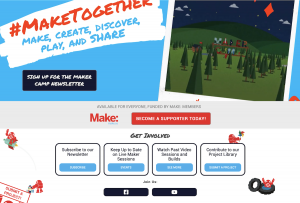 Makercamp Website